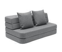 Grå KK3 fold sofa/ madrass - by KlipKlap