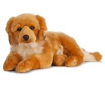 Stor Golden Retriever, 60 cm - Living Nature