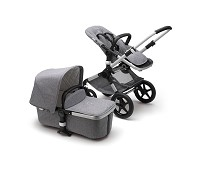 Grey Melange / alu, Bugaboo Fox Cl..
