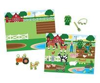 Dyr og landskap - Hobbysett 5 scener, 150 merker