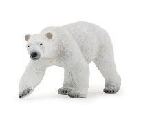 Isbjørn - miniatyrfigur - Papo