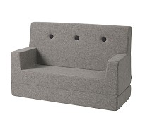 Grå sofa fra By KlipKlap, KK Kids Sofa