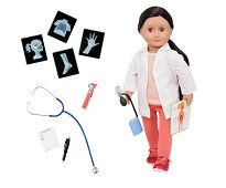 Nicola, dukke med legeklær - Our Generation