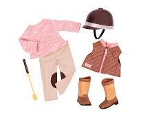 Rideklær, dukkeklær - Our Generation