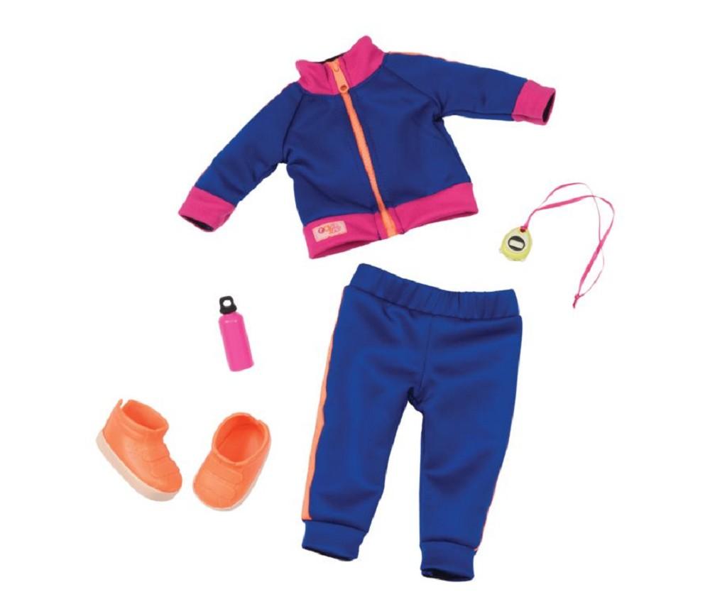 b05b6c6a Treningsklær - dukkeklær til Our Generation   Sprell - veldig fine ...