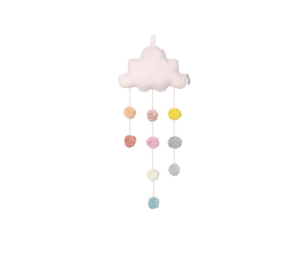 bd085505 Skyformet uro med rosa pom poms - Liewood | Sprell - veldig fine ...