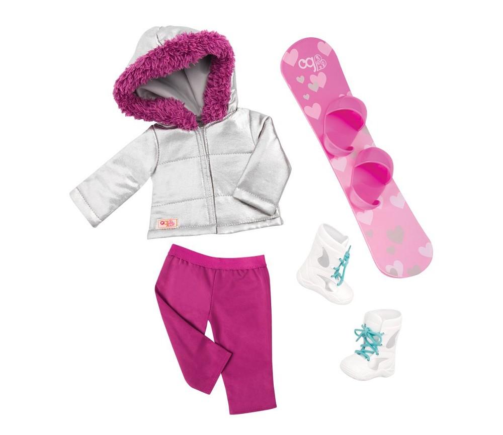 4c3e6309 Vinterklær - dukkeklær til Our Generation | Sprell - veldig fine ...
