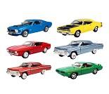 Modellbil, Oldtimer USA (1960-70), 6 valg