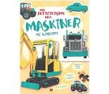 Aktivitetsbok med maskiner og kjøretøy