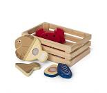 Kasse med fisk, lekemat