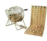 Bingo og lottospill med tombola