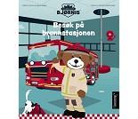 Brannbamsen Bjørnis, besøk på brannstasjonen