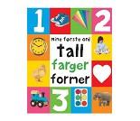 Mine første ord om tall, farger og former, bok