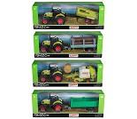 Lekebil, traktor med tilhenger, 4 valg