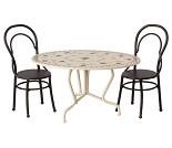 Spisebord og stoler til dukker, 16 cm fra Maileg