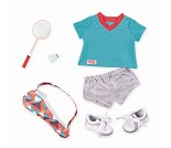 Badmintonklær - dukkeklær til Our Generation