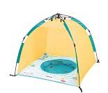Gult UV-telt med basseng fra Ludi