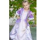 Rapunsel, lilla prinsessekjole, 5-6 år - kostyme