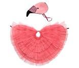 Flamingo, 3-6 år, kostyme - Meri Meri