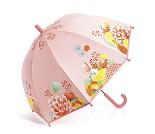 Barneparaply med blomster og sommerfugler - Djeco