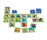 Domino med biler og kjøretøy