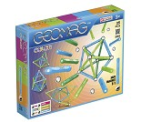 Geomag Color, 35 deler - magnetisk byggesett