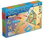 Geomag Confetti, 68 deler - magnetisk byggesett