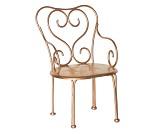 Gullfarget stol til dukker, 18 cm - Maileg
