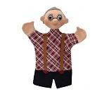 Hånddukke, bestefar