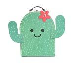 Kaktus, koffert med armer
