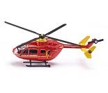 Rødt helikopter fra Siku