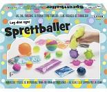 Lag sprettballer, stort hobbysett