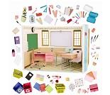 Klasserom, dukketilbehør - Our Generation