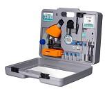 Koffert med mikroskop og masse tilbehør