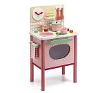 Rosa lekekjøkken med tilbehør fra Djeco