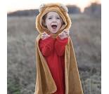 Løvekappe, 2-3 år, kostyme