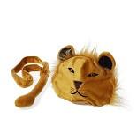 Løvelue og hale, kostyme