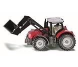 Traktor med skuff fra Siku