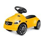 Gul Mercedes gåbil