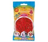 Midi perler rød, 1000 stk - Hama