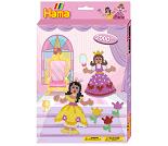 Midi perlesett med prinsesser, 2000 perler - Hama