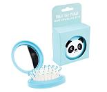 Panda, sammenleggbar hårbørste