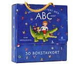 Min egen koffert med ABC kort, bokstavkort