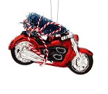 Juletrepynt med motorsykler