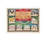 Stempelsett med bondegårdsdyr