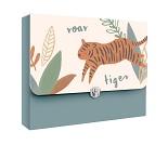 Tegnemappe med tiger fra Sebra