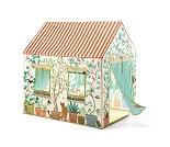 Leketelt, hus med blomster - Djeco