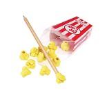 Popcorn, 12 små viskelær