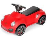 Rød Porche 911 gåbil