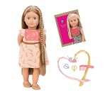 Portia, dukke med langt hår - Our Generation